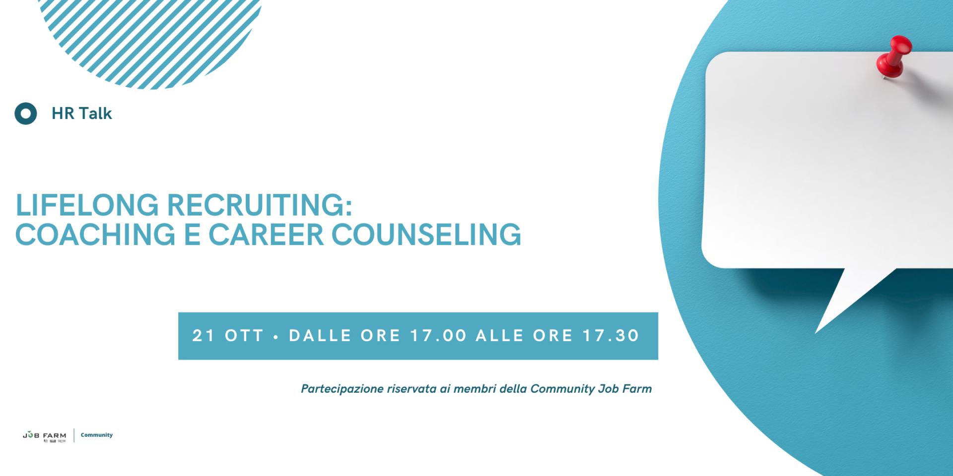 LifeLong Recruiting: Coaching e Career Counseling